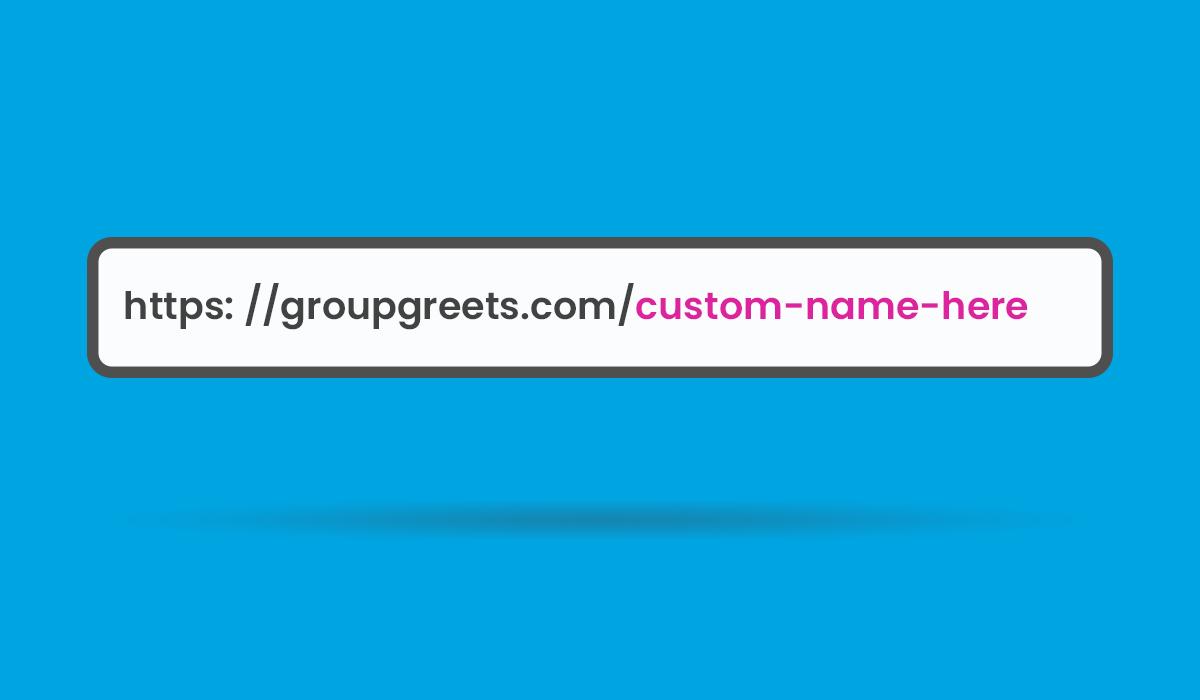 custom name for ecard